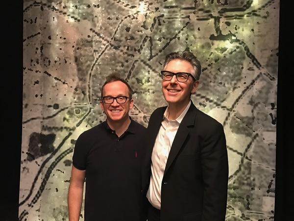 Chris Gethard and Ira Glass