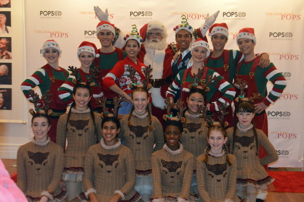 Photo Flash: John Bolton, Allison Blackwell and New York Theatre Ballet Join the New York Pops for Family Holiday Concert