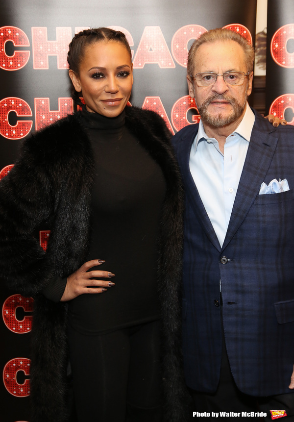 Mel B and Barry Weissler