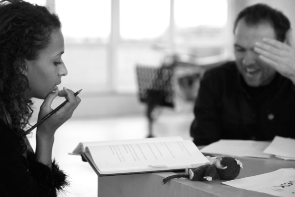 Photo Flash: Inside Rehearsal for ABIGAIL at The Bunker
