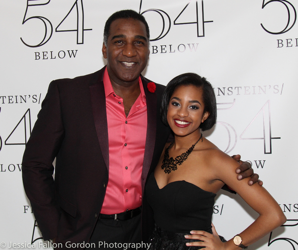 Norm Lewis and Olivia Hardy