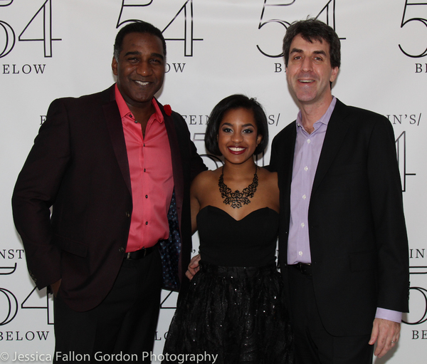Norm Lewis, Olivia Hardy and Jason Robert Brown