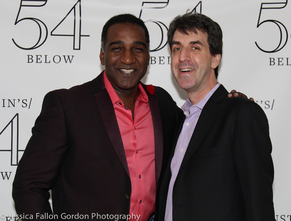 Norm Lewis and Jason Robert Brown