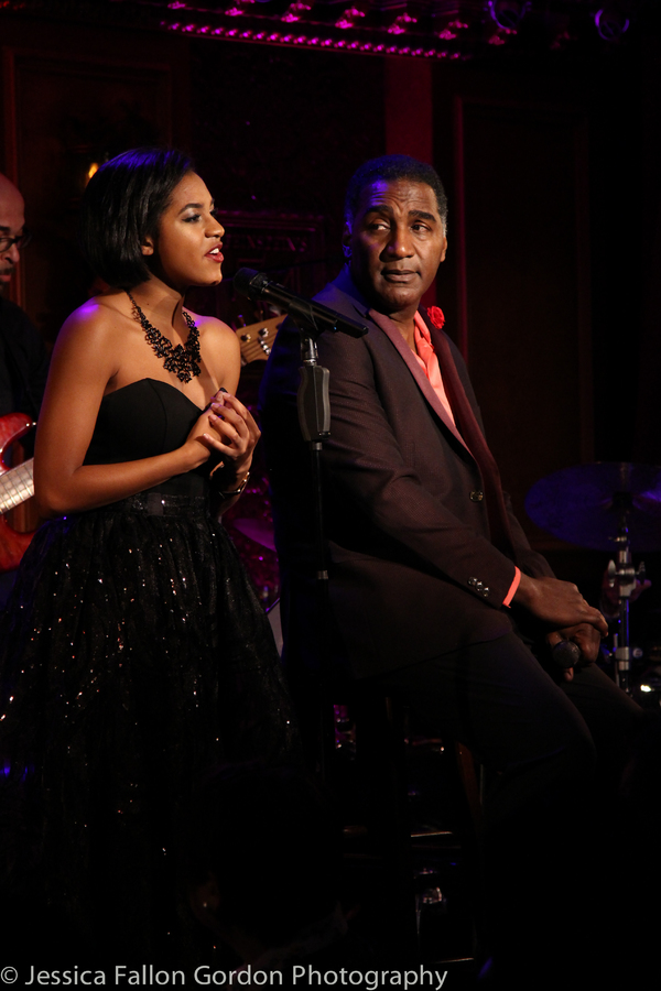 Olivia Hardy and Norm Lewis Photo
