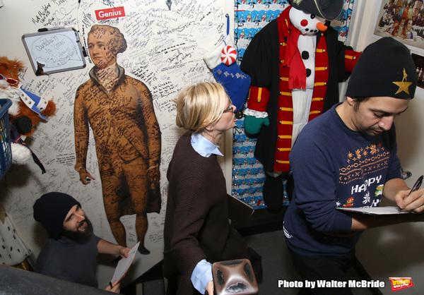 Josh Groban, Cate Blanchett and Lin-Manuel Miranda  Photo