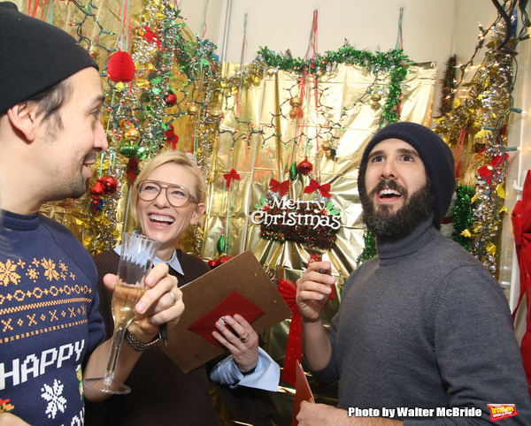 Photo Coverage: Lin-Manuel Miranda, Josh Groban, and Cate Blanchett Judge HAMILTON Door Decorating Competition 2016