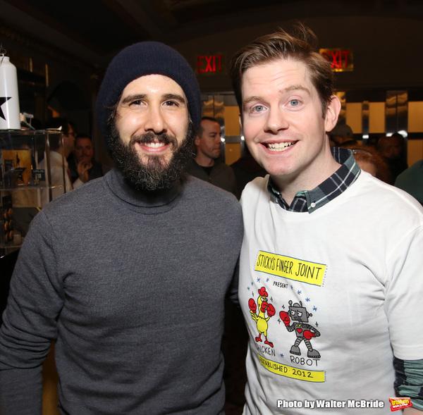 Josh Groban and Rory O'Malley