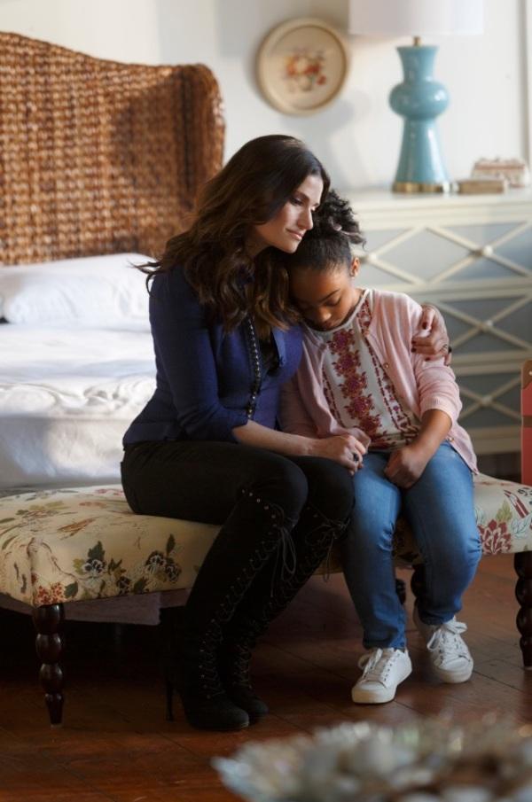 Idina Menzel and Sania Victoria