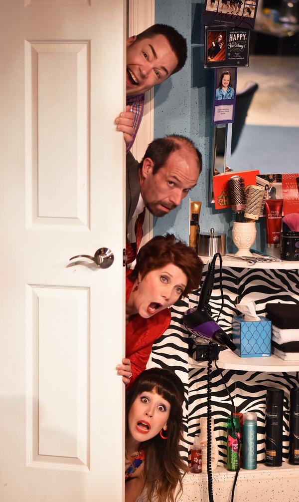 From top, Tony Whitcomb (Daniel Klingler), Eddie Lawrence (Michael Shelton), Mrs. Ele Photo