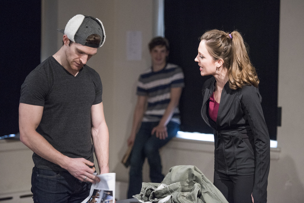 Photo Flash: In Rehearsal with Laura Osnes, Will Swenson and More for Waterwell's BLUEPRINT SPECIALS