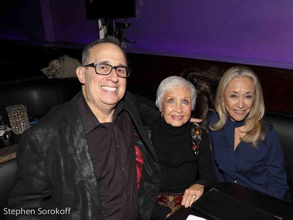 David Friedman, Jane Powell, Eda Sorokoff Photo