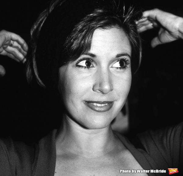 Carrie Fisher photographed