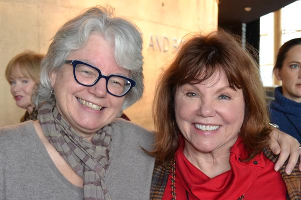 Jackie Maxwell and Marsha Mason