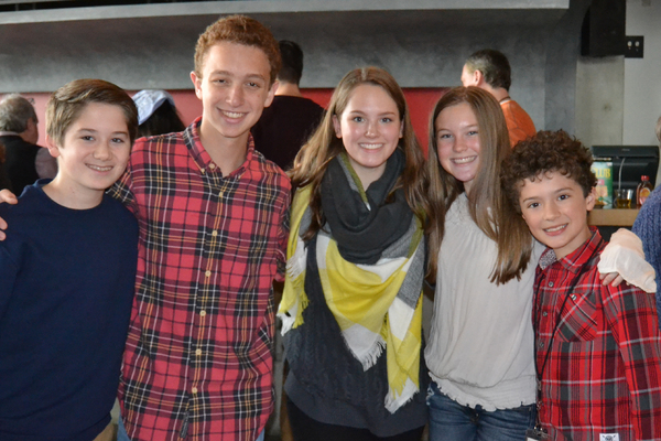 Ethan Van Slyke, Ethan Miller, Lucy Breedlove, Heidi Kaplan and Tyler Bowman Photo