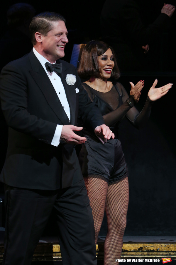 Christopher Sieber with Mel B