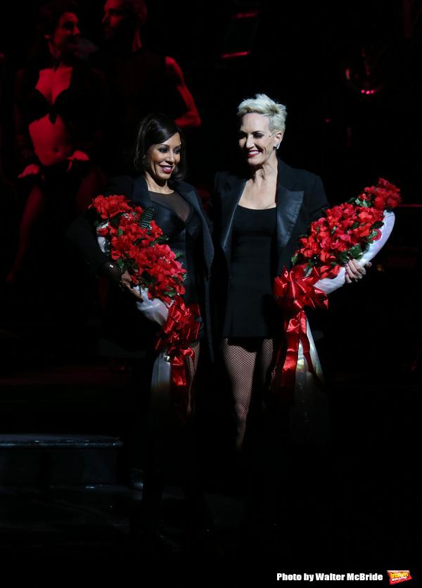 Mel B with Amra-Faye Wright