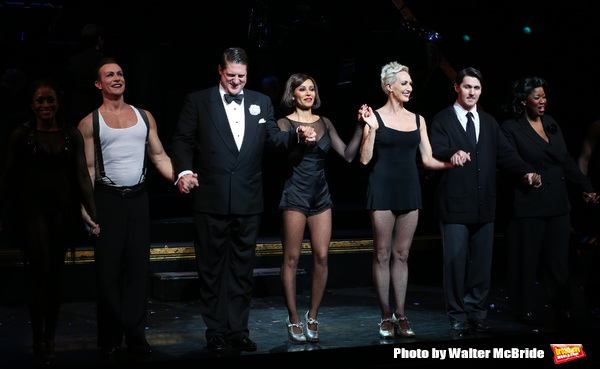 Christopher Sieber, Mel B, Amra-Faye Wright, Denny Paschall, NaTasha Yvette Williams with cast