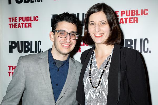 Ryan J. Haddad, Laura Savia Photo