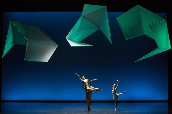 Jessica Lang Dance: Eve Jacobs and Kana Kimura and John Harnage Photo