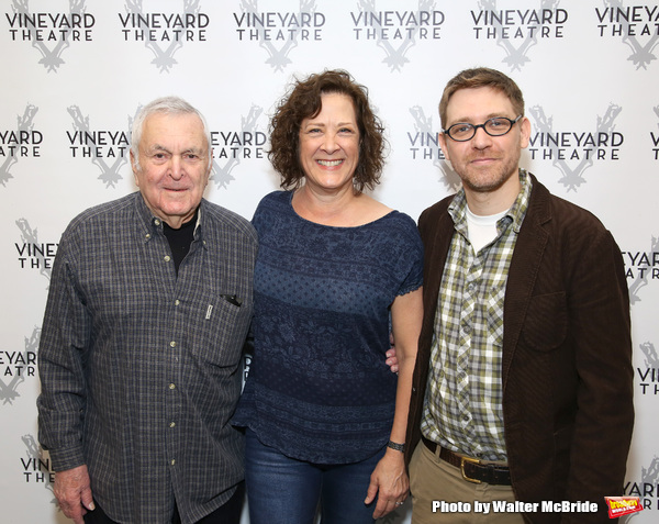John Kander, Karen Ziemba and Greg Pierce