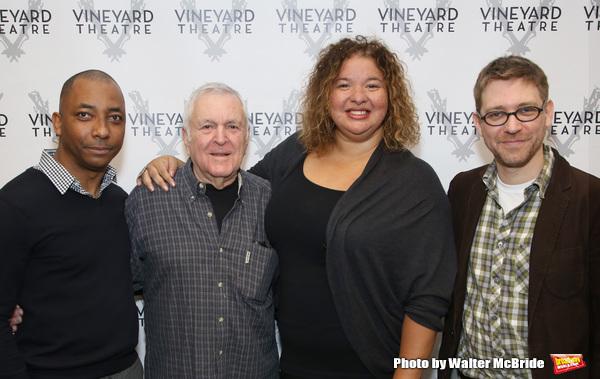 Christopher Windom, John Kander, Liesl Tommy and Greg Pierce