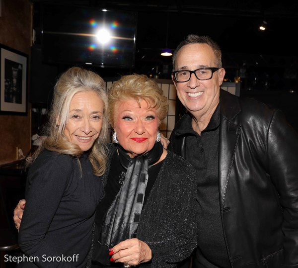 Eda Sorokoff, Marilyn Maye, David Friedman