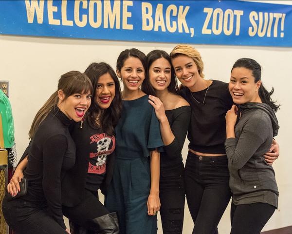 Kimberlee Kidd, Melinna Bobadilla, Rocio Lopez, Jeanine Mason, Tiffany Dupont and Fiona Cheung