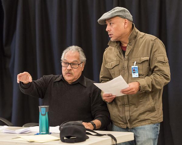 Luis Valdez and  Kinan Valdez Photo