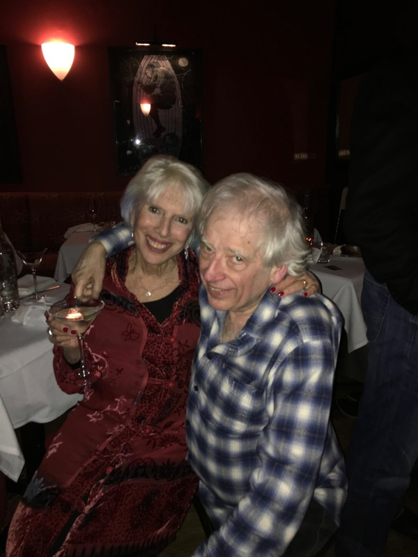 Austin Pendleton and Barbara Bleier
