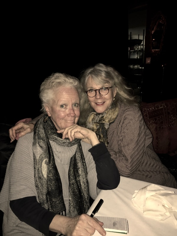 Tulis McCall and Blythe Danner