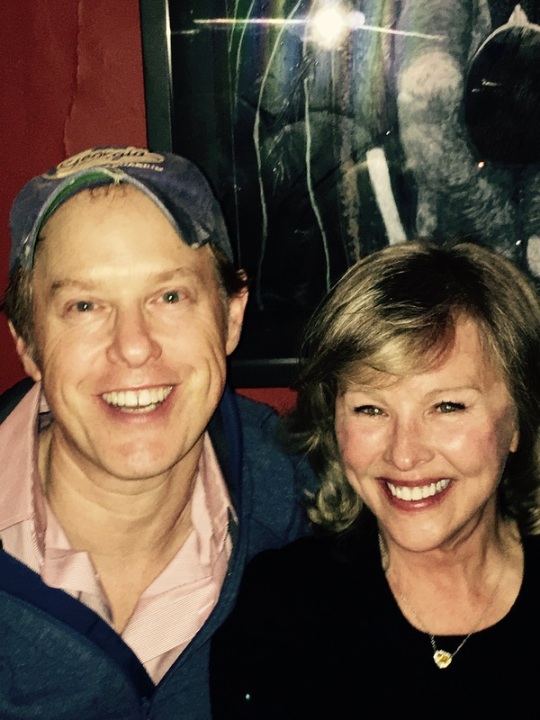 Raphael Sbarge and Faye Grant