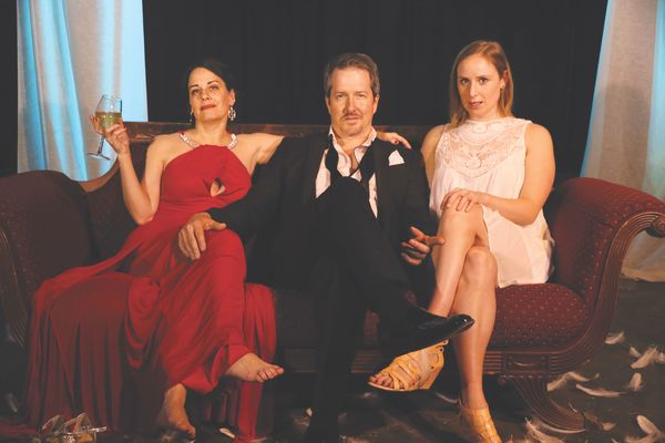 Laurel Whitsett, Chris Hury, Alexandra Lawrence