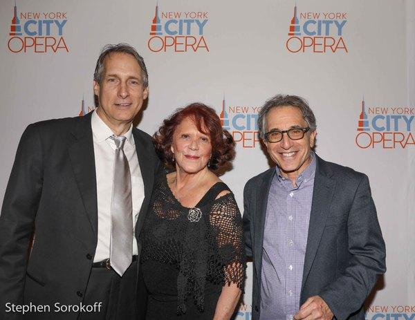 Gregg Edelman, Linda Lavin, Chip Zien