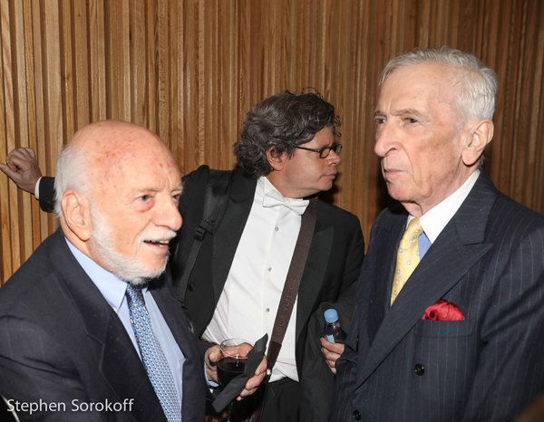 Harold Prince, Charles Prince, Gay Talese Photo