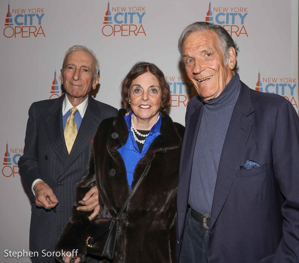 Gay Talese, Nan Duchin, Peter Duchin Photo