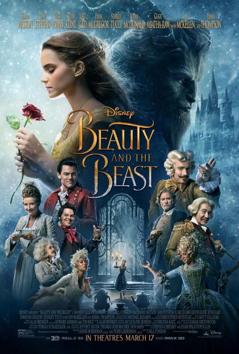 Disney Reveals Poster for BEAUTY AND THE BEAST; New Preview Coming Tonight