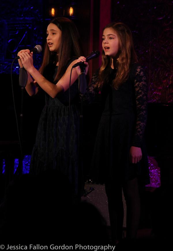 Ava Ulloa and Paige Brady