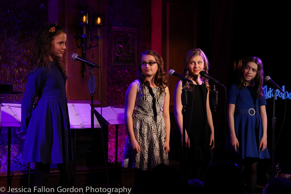 Fina Strazza, Eliza Holland Madore, Brooklyn Shuck and Tori Feinstein