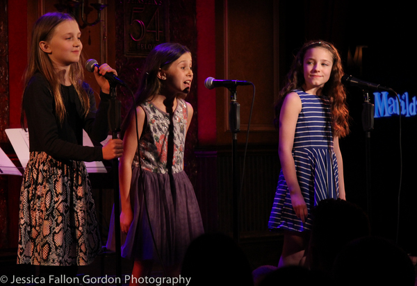 Willow McCarthy, Aviva Winick and Ava Briglia