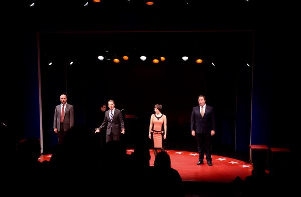 Will Erat, Peter Benson, Vanessa Lemonides and Michael McCoy Photo