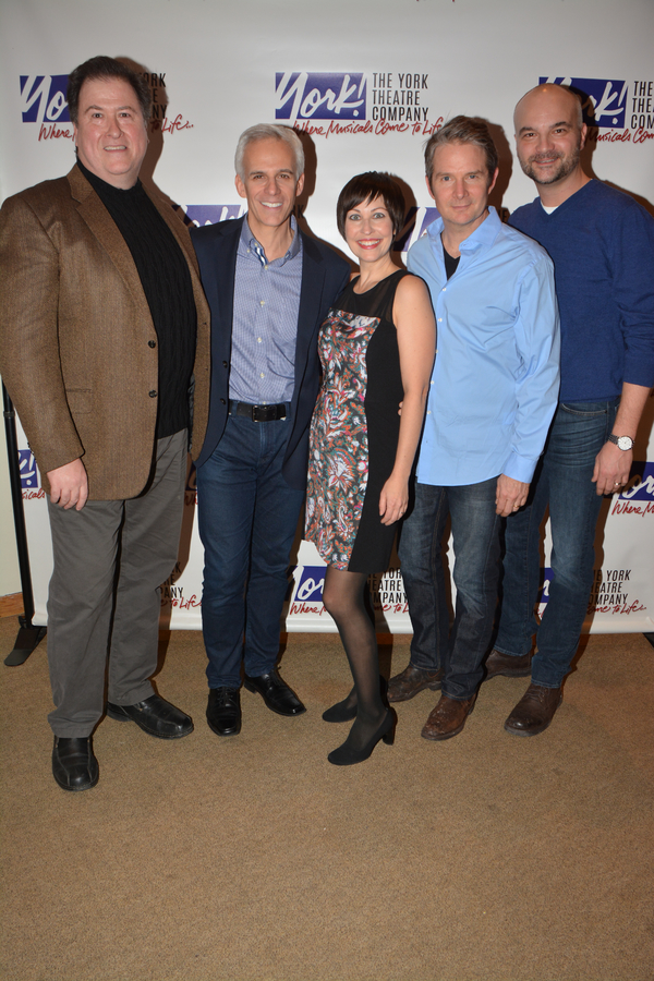 Michael McCoy, Neal Mayer, Vanessa Lemonides, Peter Benson and Will Erat
