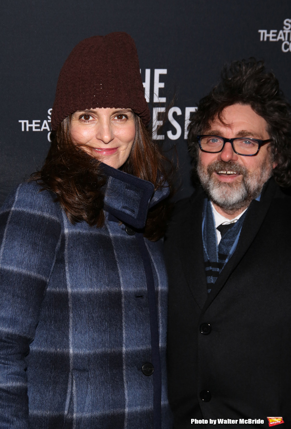 Tina Fey and Jeff Richmand