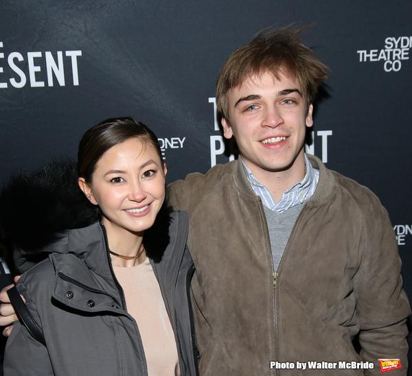 Kimiko Glenn and Sean Grandillo  Photo
