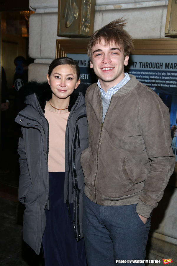 Kimiko Glenn and Sean Grandillo