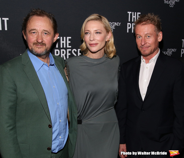 Andrew Upton, Cate Blanchett and Richard Roxburgh