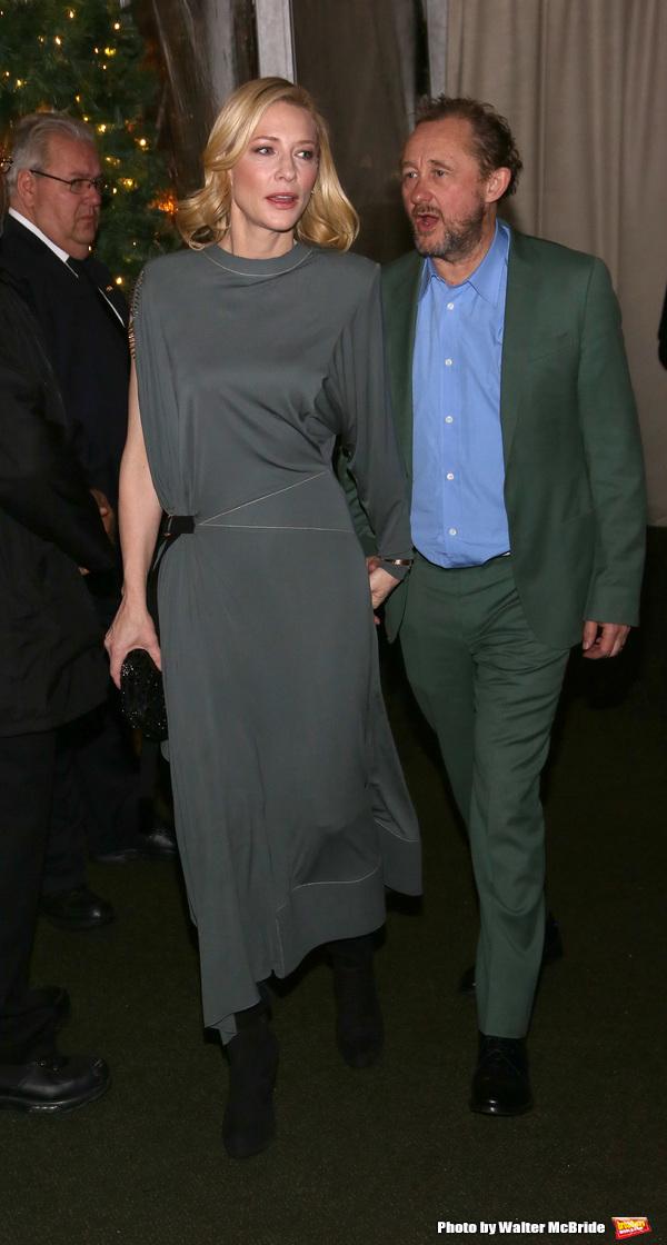 Cate Blanchett and Andrew Upton  Photo