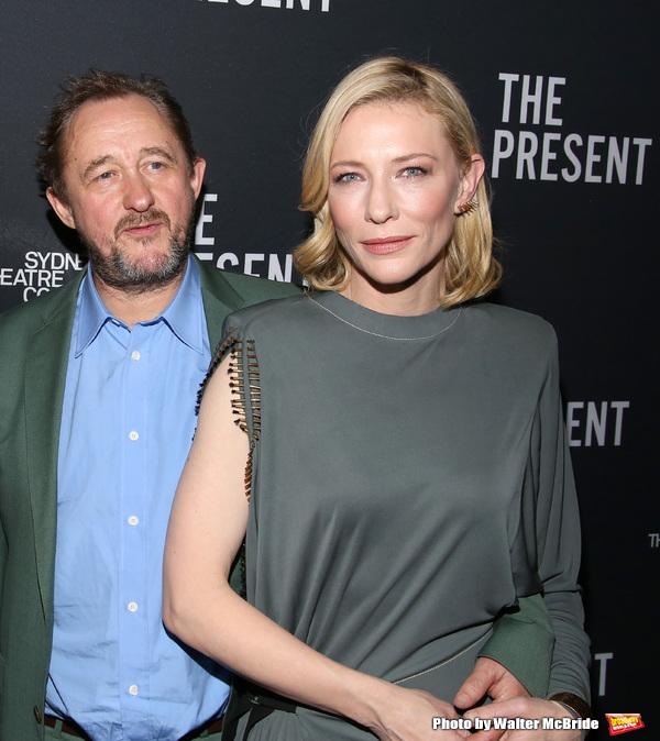 Andrew Upton and Cate Blanchett  Photo