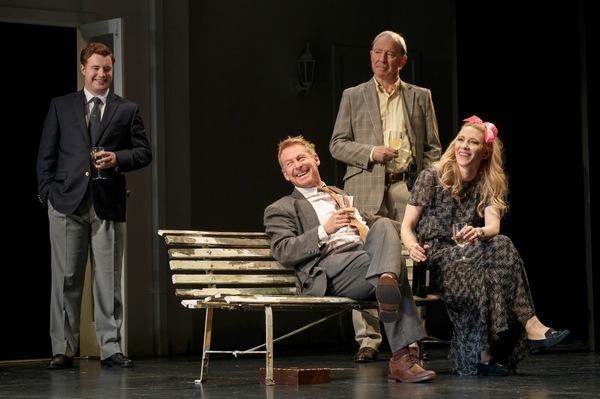 Brandon McClelland, Richard Roxburgh, David Downer, Cate Blanchett Photo