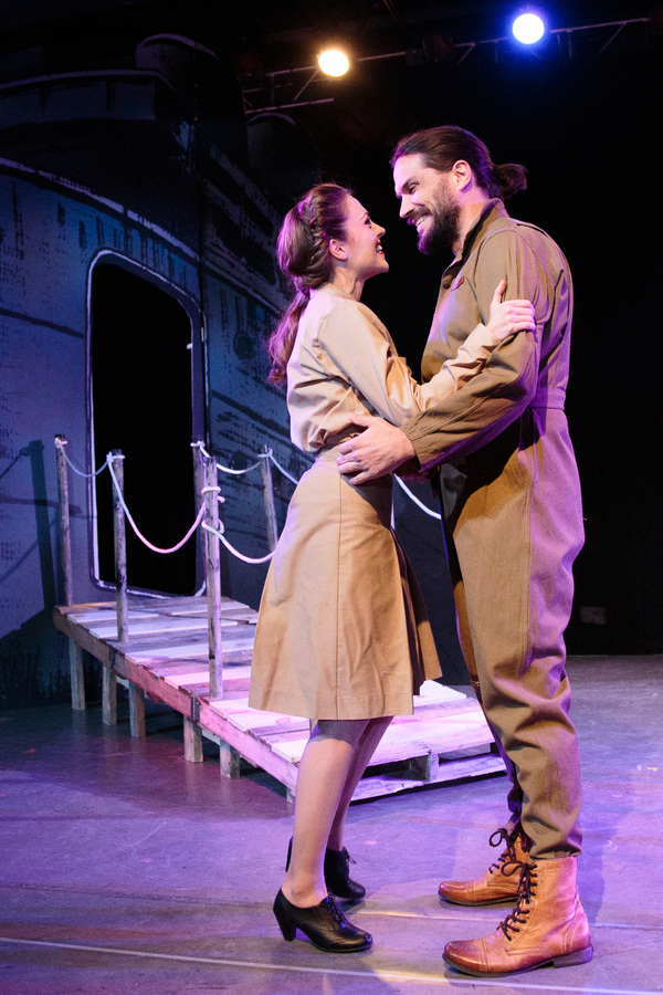 Laura Osnes and Will Swenson