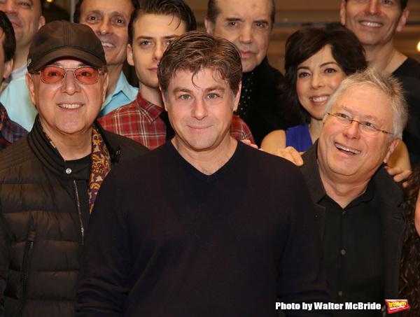Tommy Mottola, Glenn Slater and Alan Menken